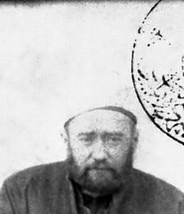 Dedem (Annemin babası) . Müderris Abdullah Hilmi efendi.