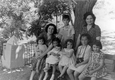 Ankara, bağ evi 1955 yazı.