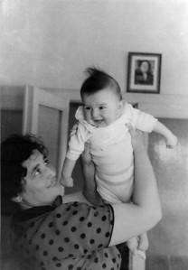 Annem ve ben, Ankara, 12 Ağustos 1955