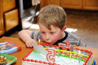 Dylan's Fifth Birthday