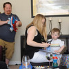 Dylan's third birthday party.<br /> At home in Concord, CA <br /> April 2, 2016