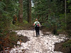 2156 Cori entering the Alpine Lakes Wilderness