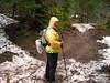 2210 Cori leaving Alpine Lakes Wilderness