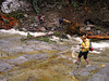 2174 Cori wading Denny Creek