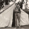 Edward G. Johnson at Camp Kearny, cira 1933 - 1934