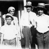 The Herman Johnson family,  Aug 1931<br /> <br /> Left to right: Edward G. ,Marie (Tjaden), Herman E., Alvin F. Sr.