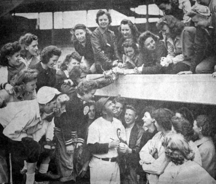 Rella Swamp Friday June 4, 1943 Rockford Girls Team 2