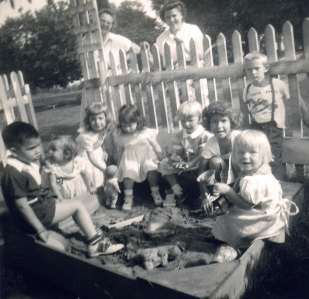 Marilyn family 1953s