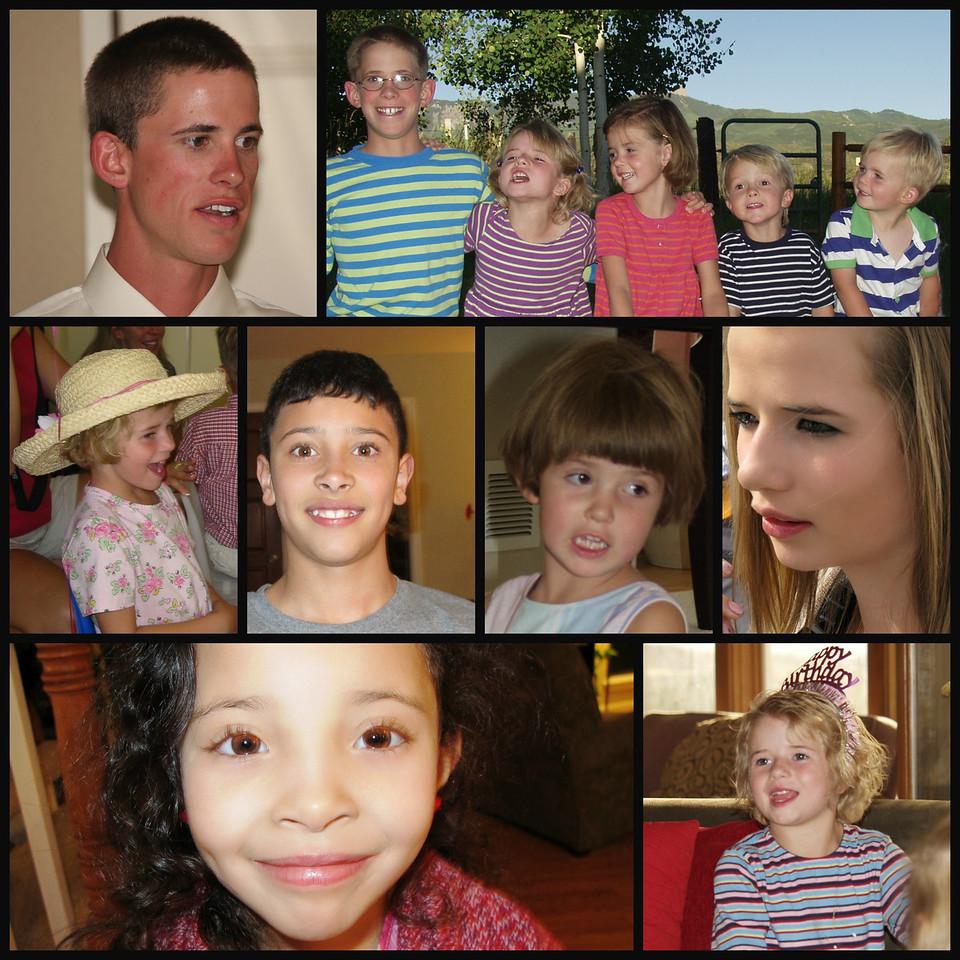 Grandchild - a collage