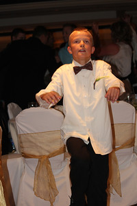 Grandchild - Grady dancing his legs off at Mike's wedding in 2012