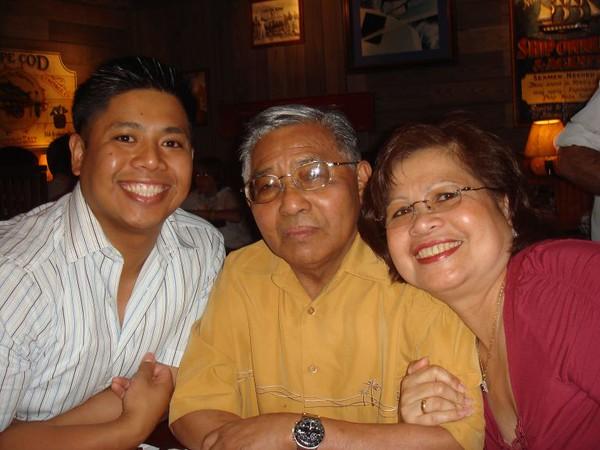 Cooper's Grandpa & Grandma Pamani