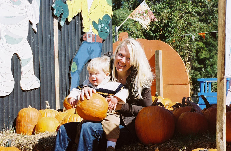 Pumpkins with Mommy