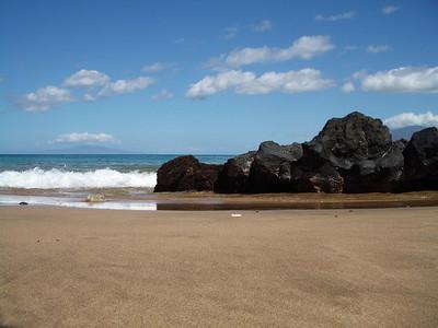 Maui - Beach - Lava