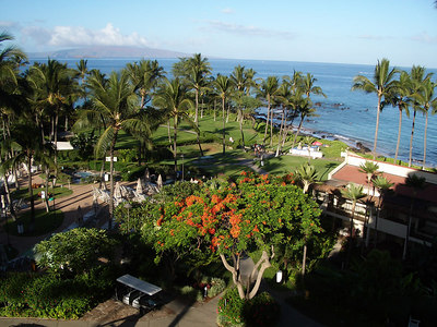 Maui - Hotel Property-View from Room
