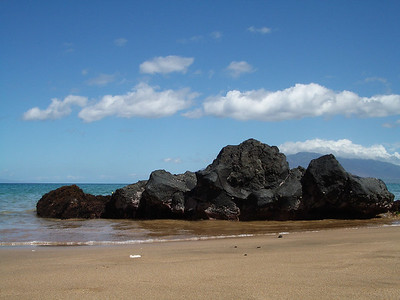 Maui - Beach - Lava 2