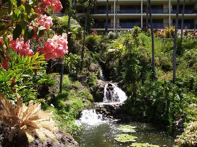 Maui - Hotel Property-Waterfall Garden