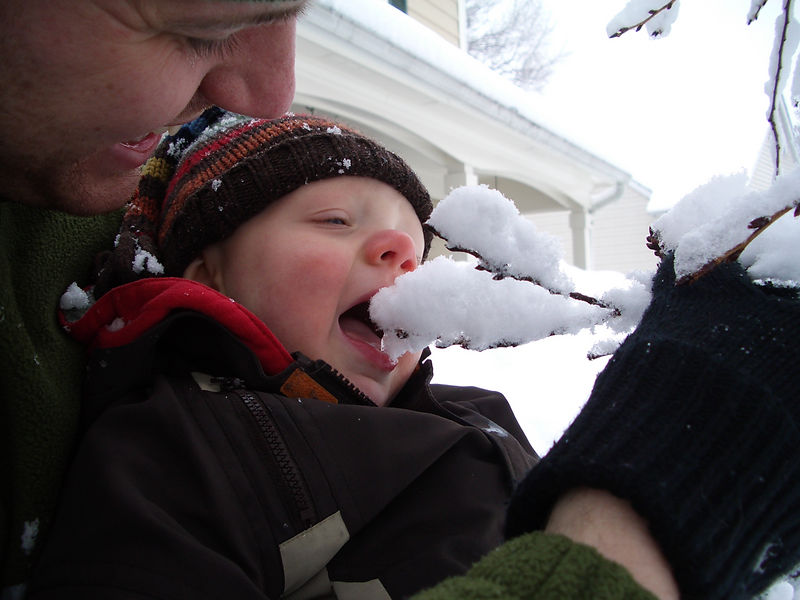 Jack's First Snow 022