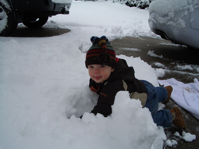 Jack's First Snow 001