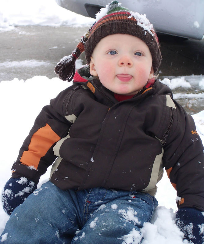 Jack's First Snow 005