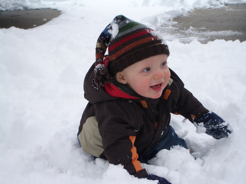 Jack's First Snow 008