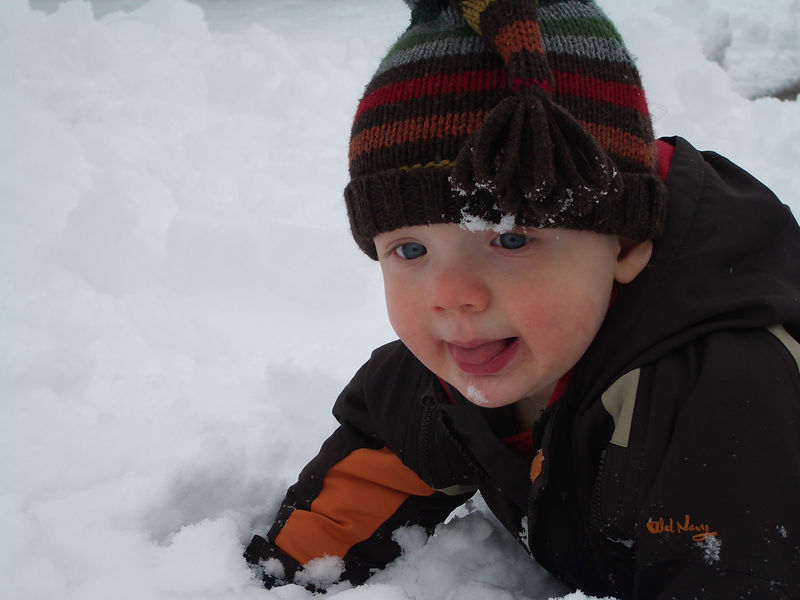 Jack's First Snow 002