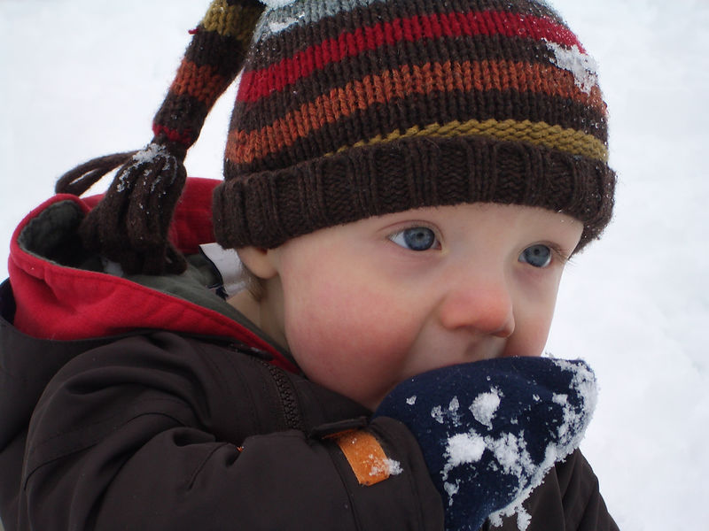 Jack's First Snow 016