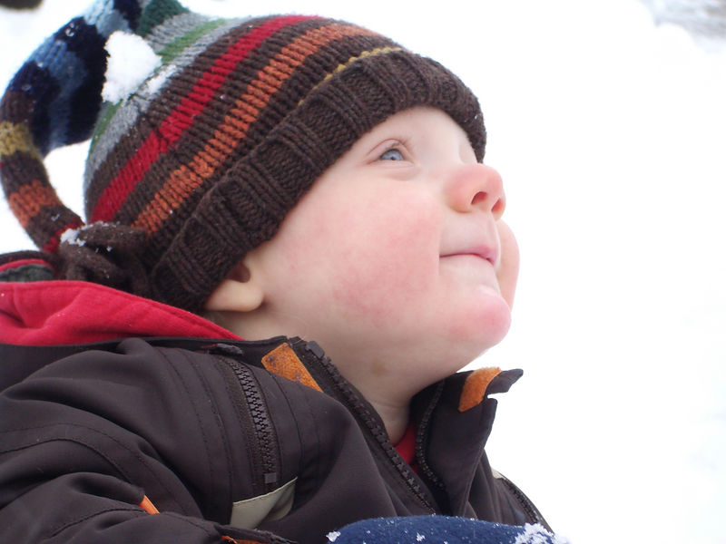 Jack's First Snow 014