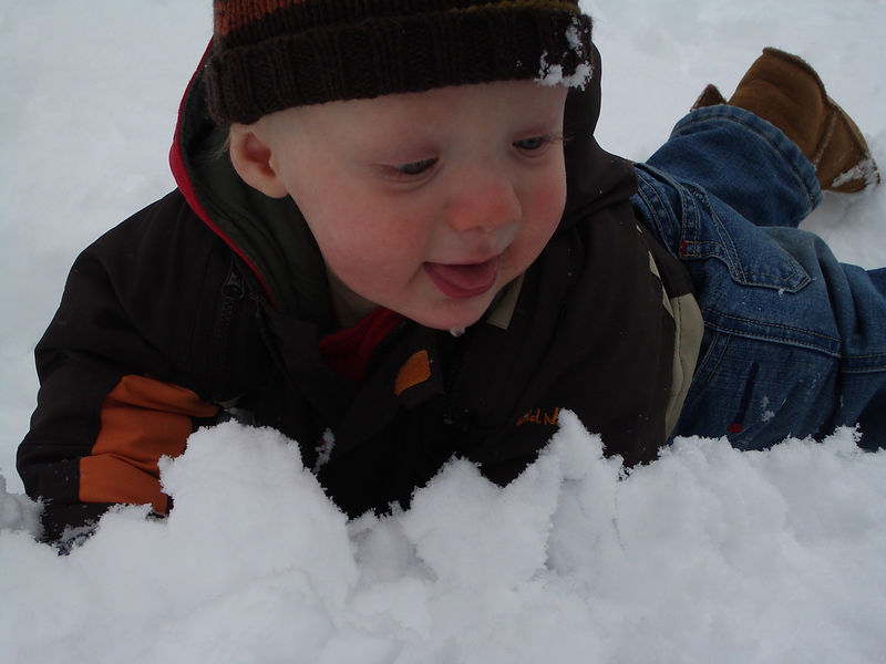 Jack's First Snow 003