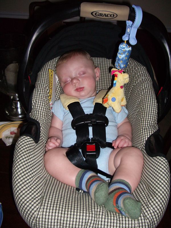 graduating to big-boy car seat