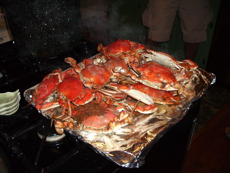 first crab catch