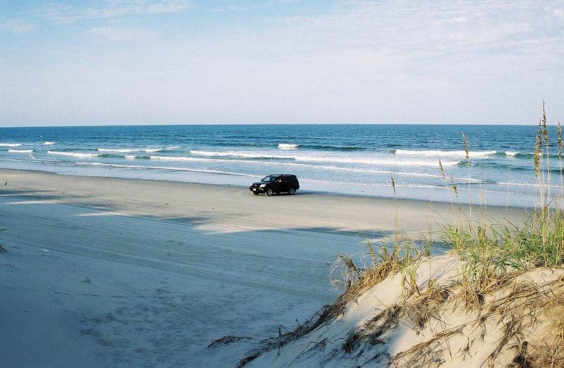 OBX 2006 Corolla Beach Dune View of Truck