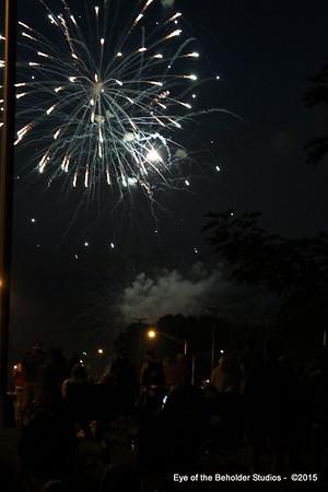 Kingston Fireworks 2015