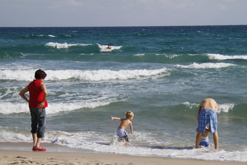 Robin Jones and Family Visit to Boca Raton Dec 2009 -  (204)