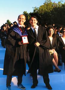 """Mert Uşşaklı with """"Hikmet Nuri Anter Award"""". Mert Matematik ve fen dallarında olağanüstü yetenekli bir öğrenciye verilen """"Hikmet Nuri Anter"""" ödülü ile"""