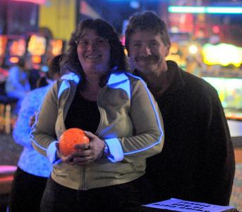 Bob & Terri bowling