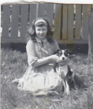 Rosemary with dog
