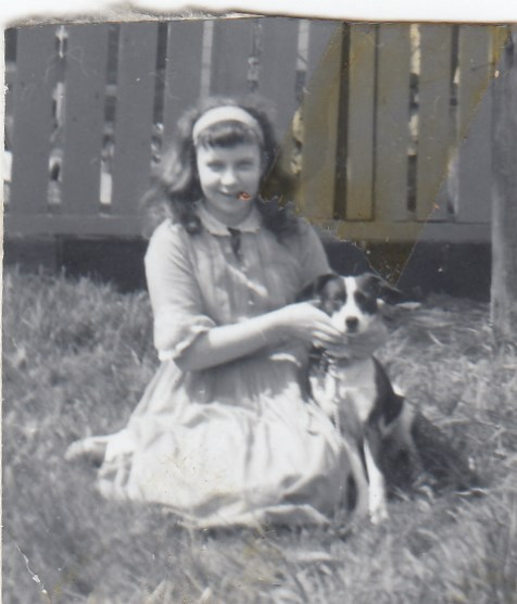 Rosemary with dog