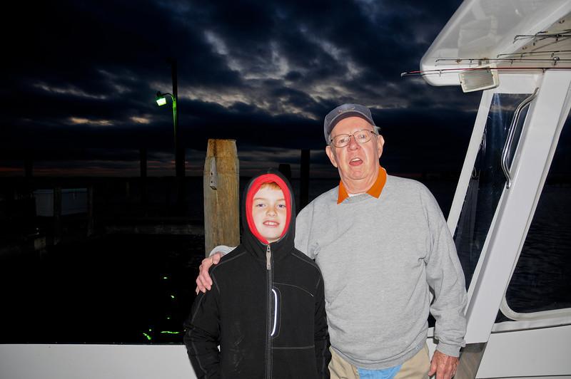 Tilghman Island Fishing, October 2011