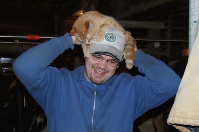 david & a cat