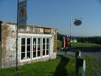 restored Arhurdale gas station