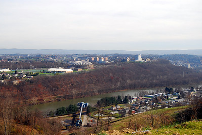 View of Morgantown, WV