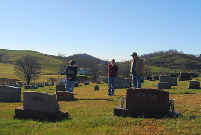 The view from their graves.