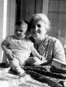 Murat Çulcuoğlu ve babaannesi