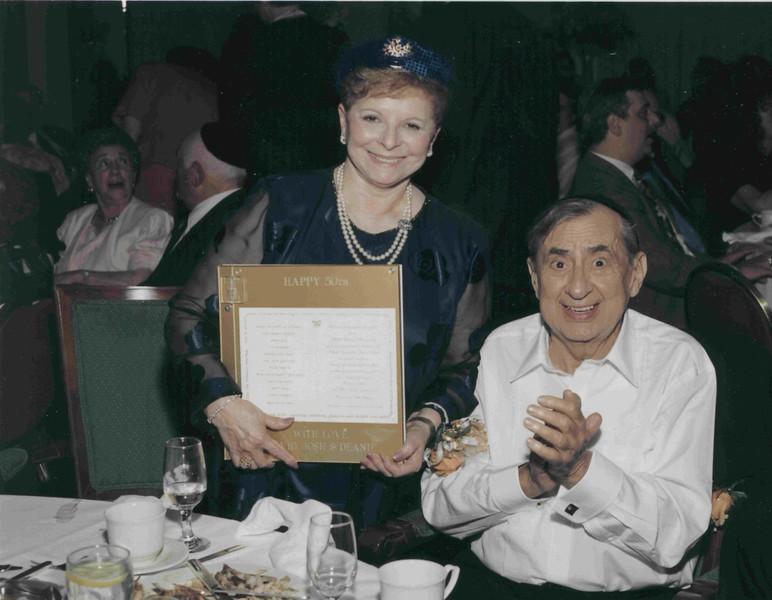 Dan and Regina Lipman, 50th Anniversary, 1998, Lincolnwood