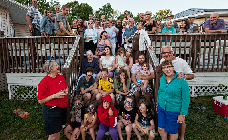 Lauzon Family Reunion, Summerstown Station, 2016