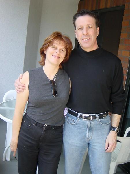 Rita and Izzy Eichenstein, at my Beverly Hills condo, 2000?