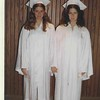 Rita Lipman (left) and friend, high school graduation, 1972, Chicago