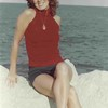 Rita Lipman, 1975, Evanston Beach