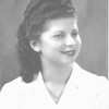Regina Weinbaum, my mother, probably high school graduation photo in Chicago, 1947.