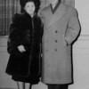 Regina Weinbaum and Dan Lipman on a date, 1947, Chicago